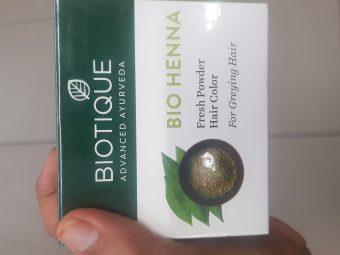 Biotique Bio Henna Fresh Powder Hair Colour For Greying Hair -Natural henna-By avyuktha