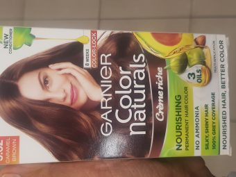 Garnier Color Naturals Creme Hair Color -Not satisfied-By avyuktha