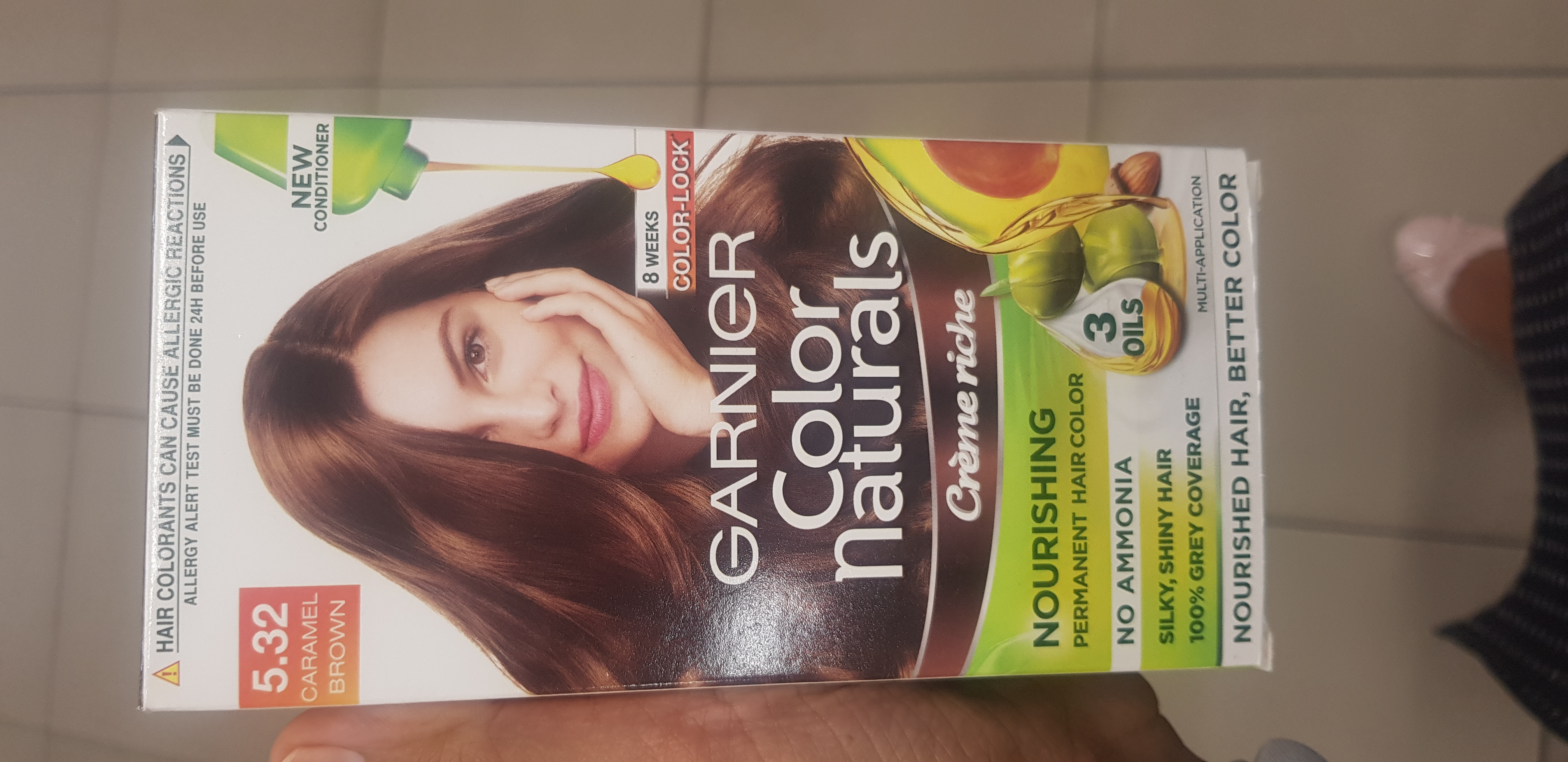 Garnier Color Naturals Creme Hair Color-Not satisfied-By avyuktha