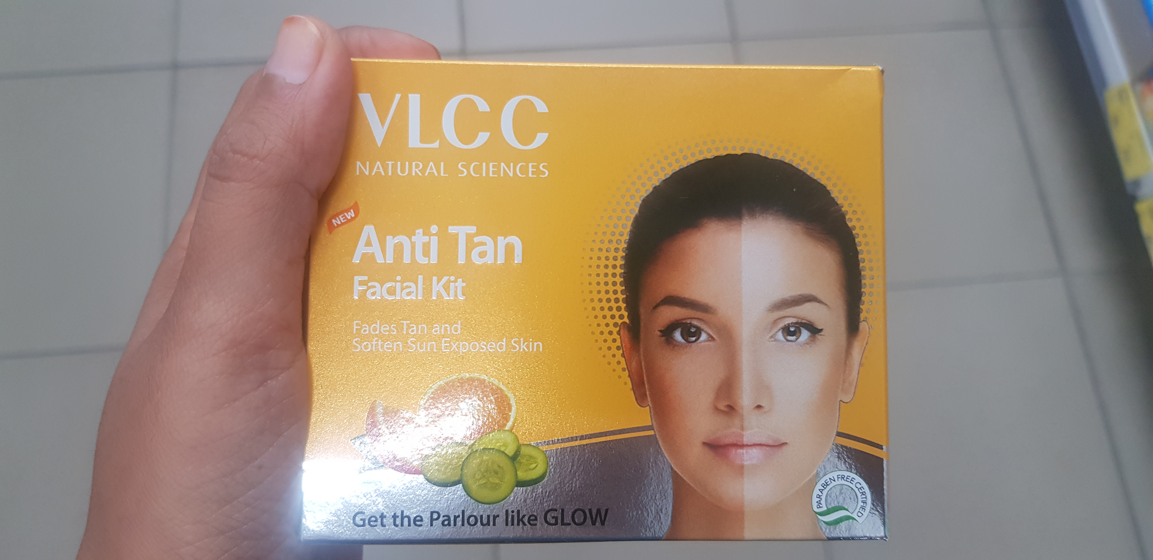 VLCC Anti Tan Facial Kit-Anti tan facial kit-By avyuktha