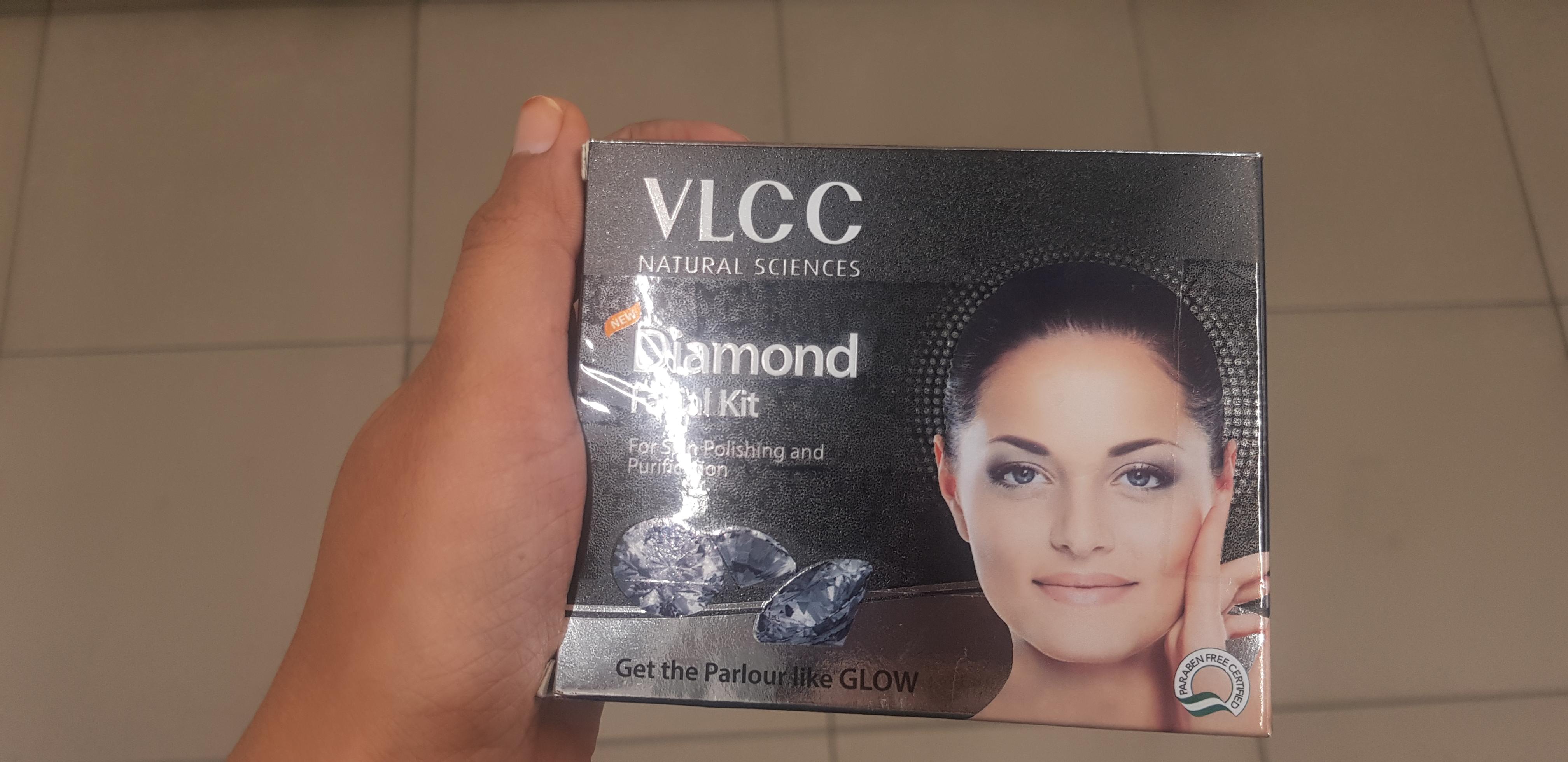 VLCC Diamond Facial Kit-Diamond facial-By avyuktha