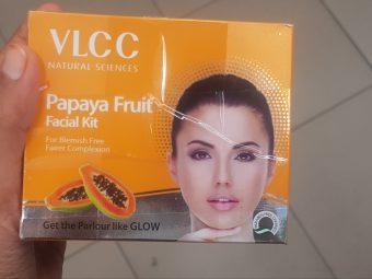 Nature's Essence Papaya Facial Kit -Best fruit facial kit-By avyuktha
