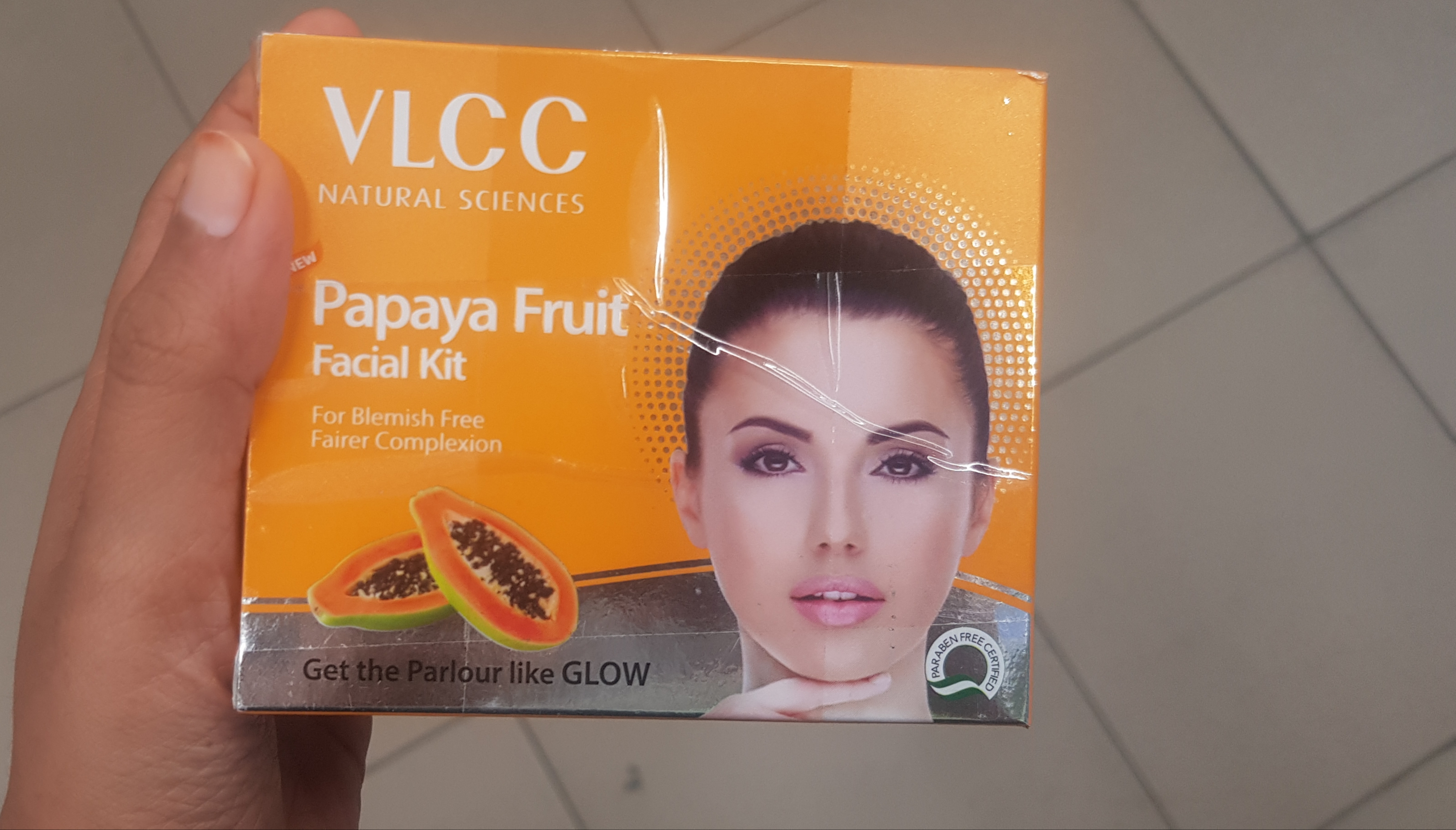 Nature's Essence Papaya Facial Kit -Best fruit facial kit-By avyuktha