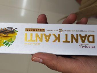 Patanjali Dant Kanti Dental Cream (Regular) 100gm -Patanjali Toothpaste-By avyuktha