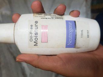 Neutrogena Oil Free Moisture Combination Skin -Oil free moisture-By avyuktha
