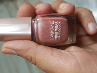 Lakme True Wear Nail Color -Lakme nailpolish-By avyuktha
