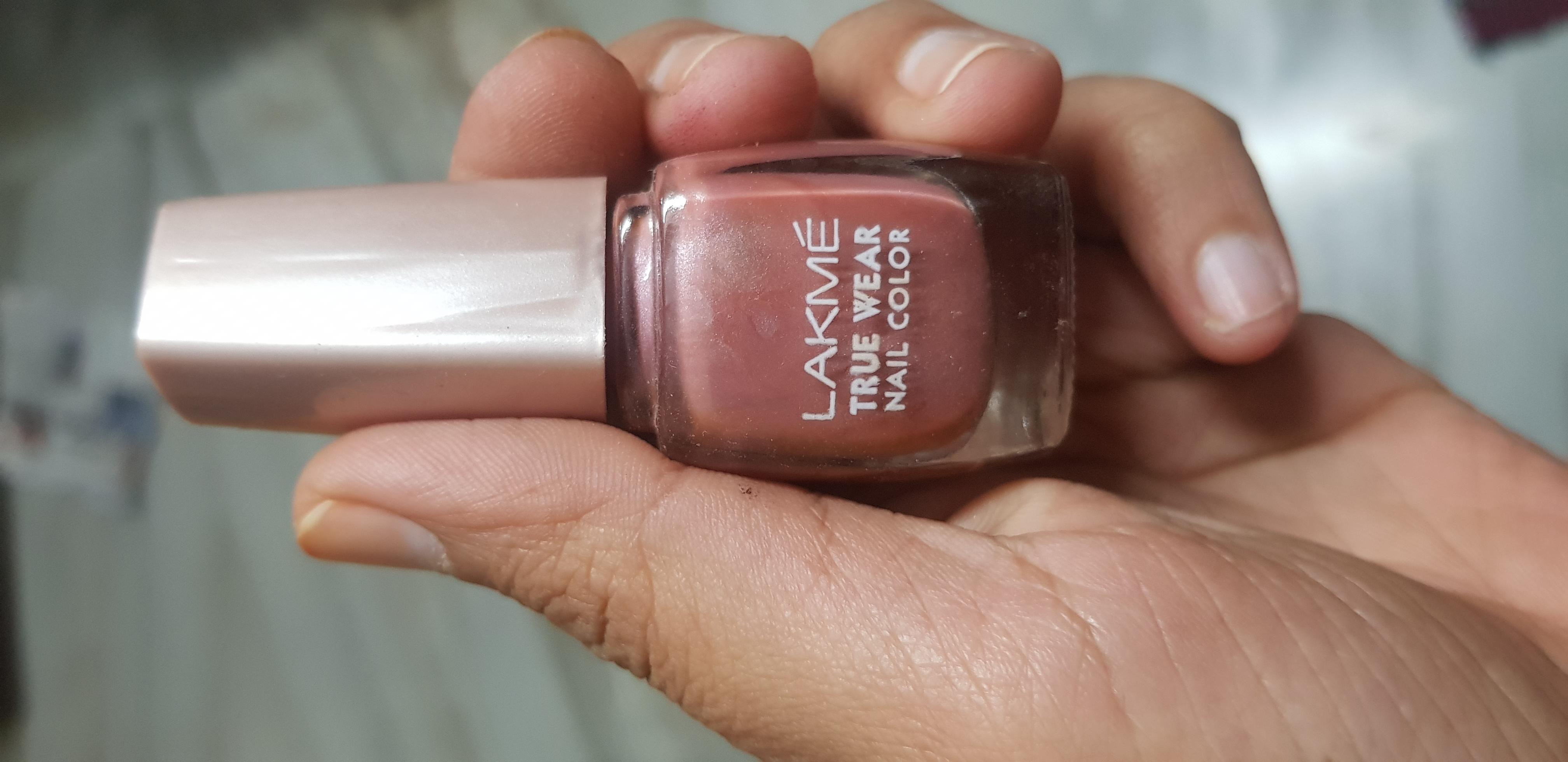 Lakme True Wear Nail Color-Lakme nailpolish-By avyuktha