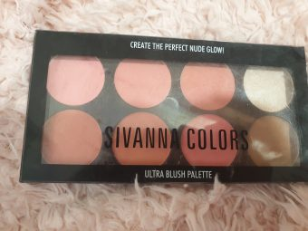 Sivanna Ultra Blush Palette pic 2-Perfect for Beginners-By vitika_singh