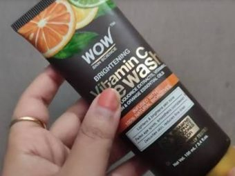 WOW Skin Science Brightening Vitamin C Face Wash -Face Wash-By bushraa