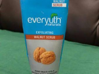 Everyuth Naturals Exfoliating Walnut Scrub -Best Scrub Ever-By bushraa