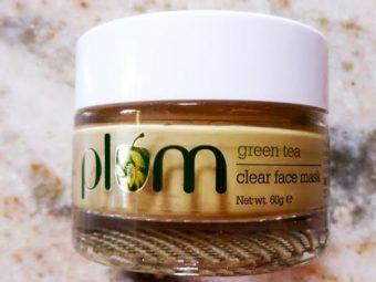 Plum Green Tea Clear Face Mask -Good mask-By pragya_sharma47