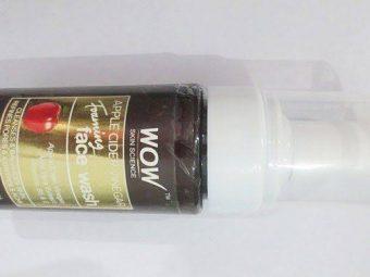 WOW Skin Science Apple Cider Vinegar Foaming Face Wash -Amazing Facewash-By bushraa