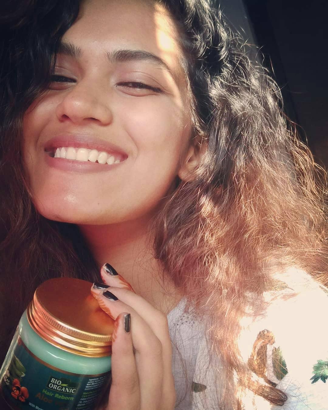 Indus Valley Bio Organic Hair Reborn Aloe Vera Gel With Bhringraj & Walnut Oil For Ultimate Hair Management-Love it!-By iyermahima-1