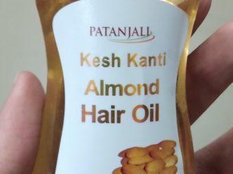 Patanjali Kesh Kanti Almond Hair Oil pic 1-Not satisfied-By Nasreen