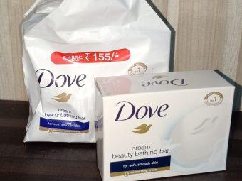 Dove Cream Beauty Bathing Bar pic 1-Good bathing bar.-By innaya_jabin