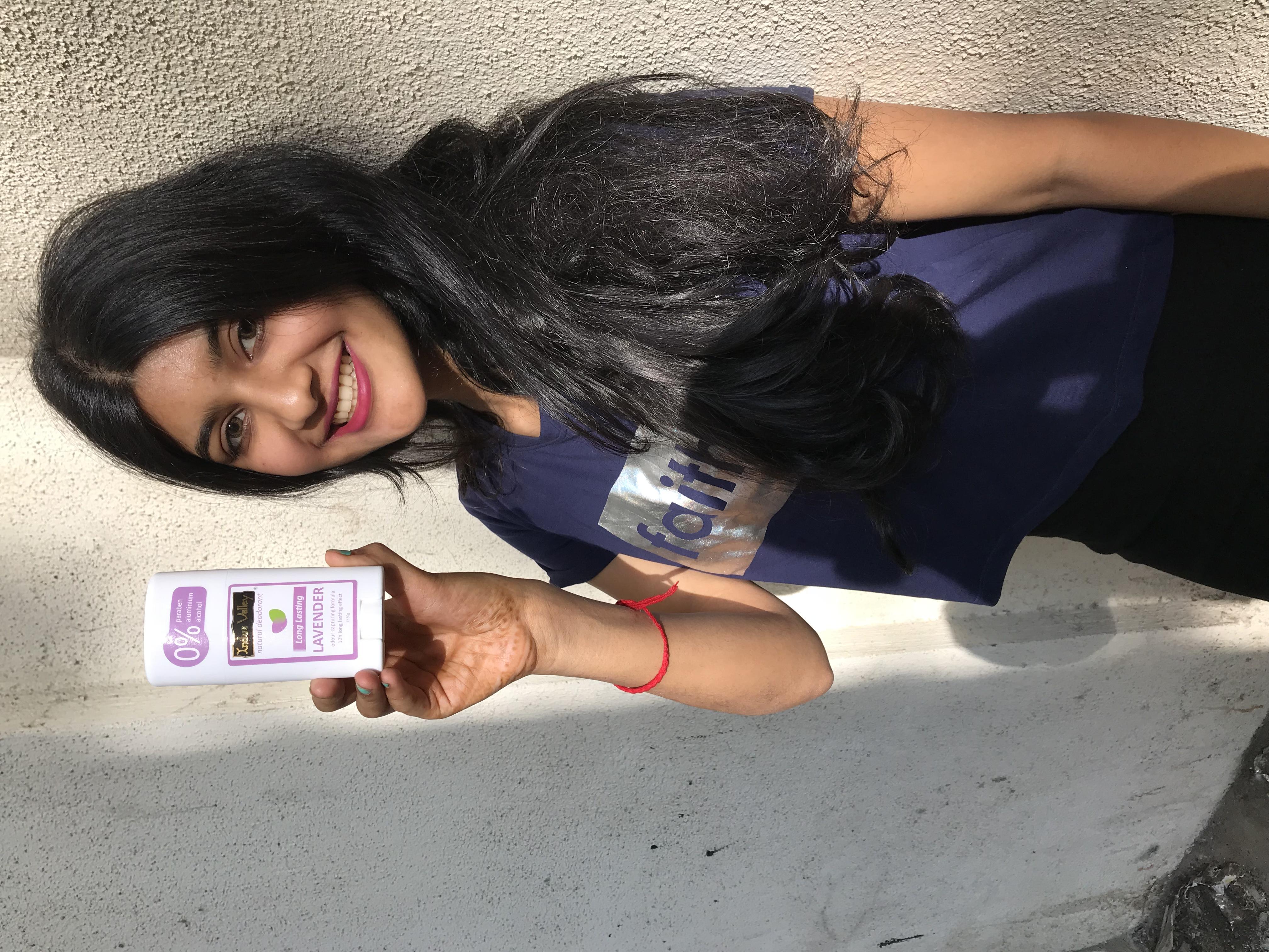 Indus Valley 100% Natural Aluminium Free Lavender Deo Stick -Indus valley deo stick-By palakjain