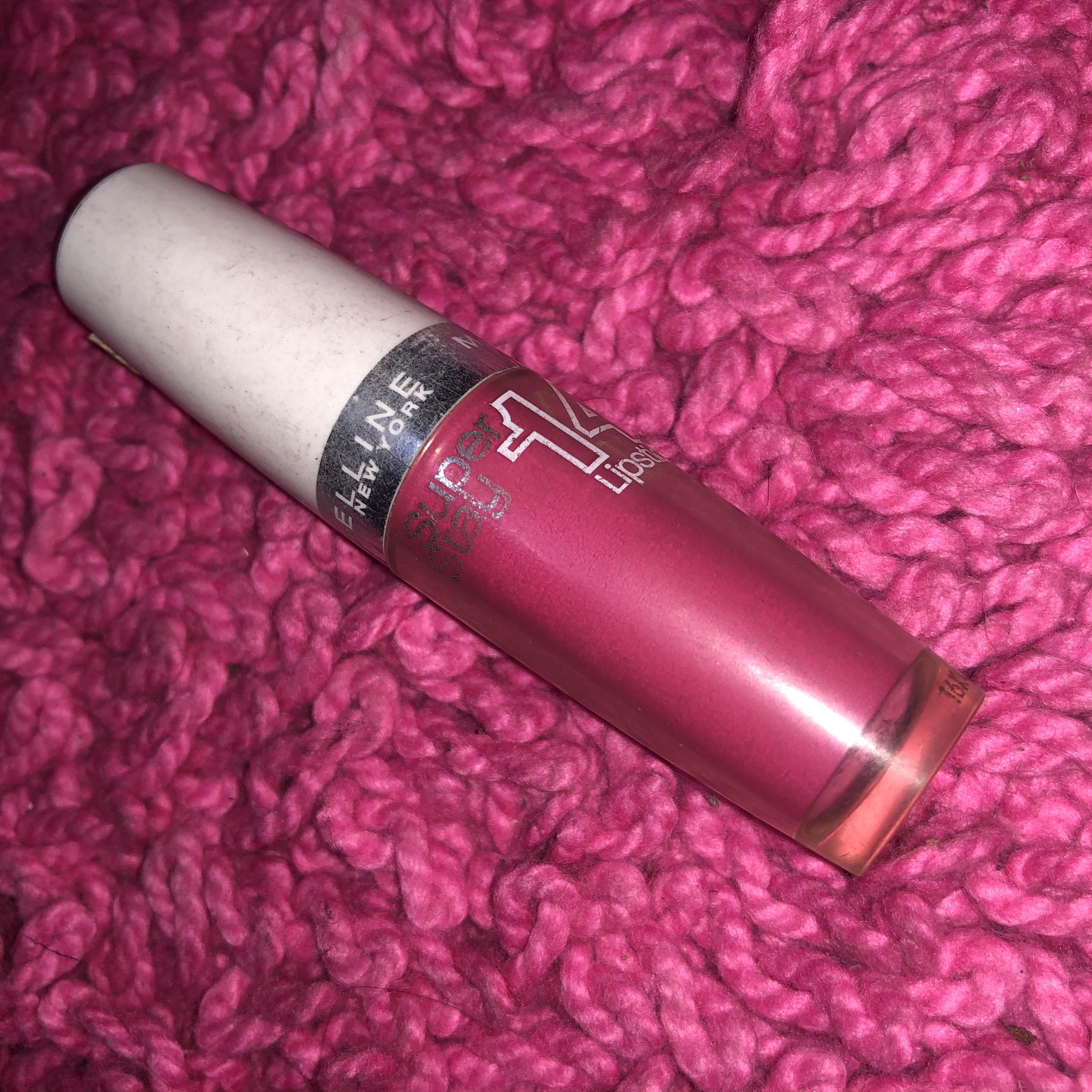 Maybelline New York Superstay 14H Megawatt -One of my favourite lipsticks-By aishwaryaaaa