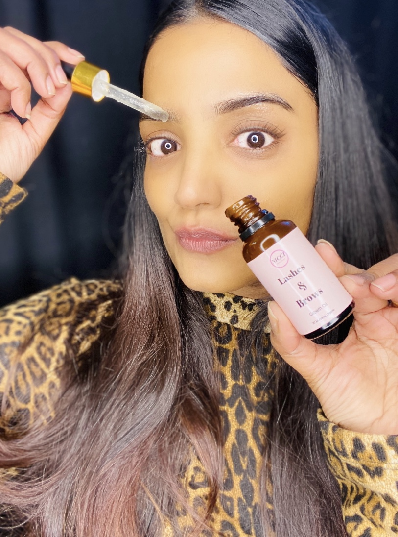 Nicci Lashes & Brows Growth Oil pic 2-NICCI LASHES & BROWS GROWTH OIL-By muskaan1118_mua