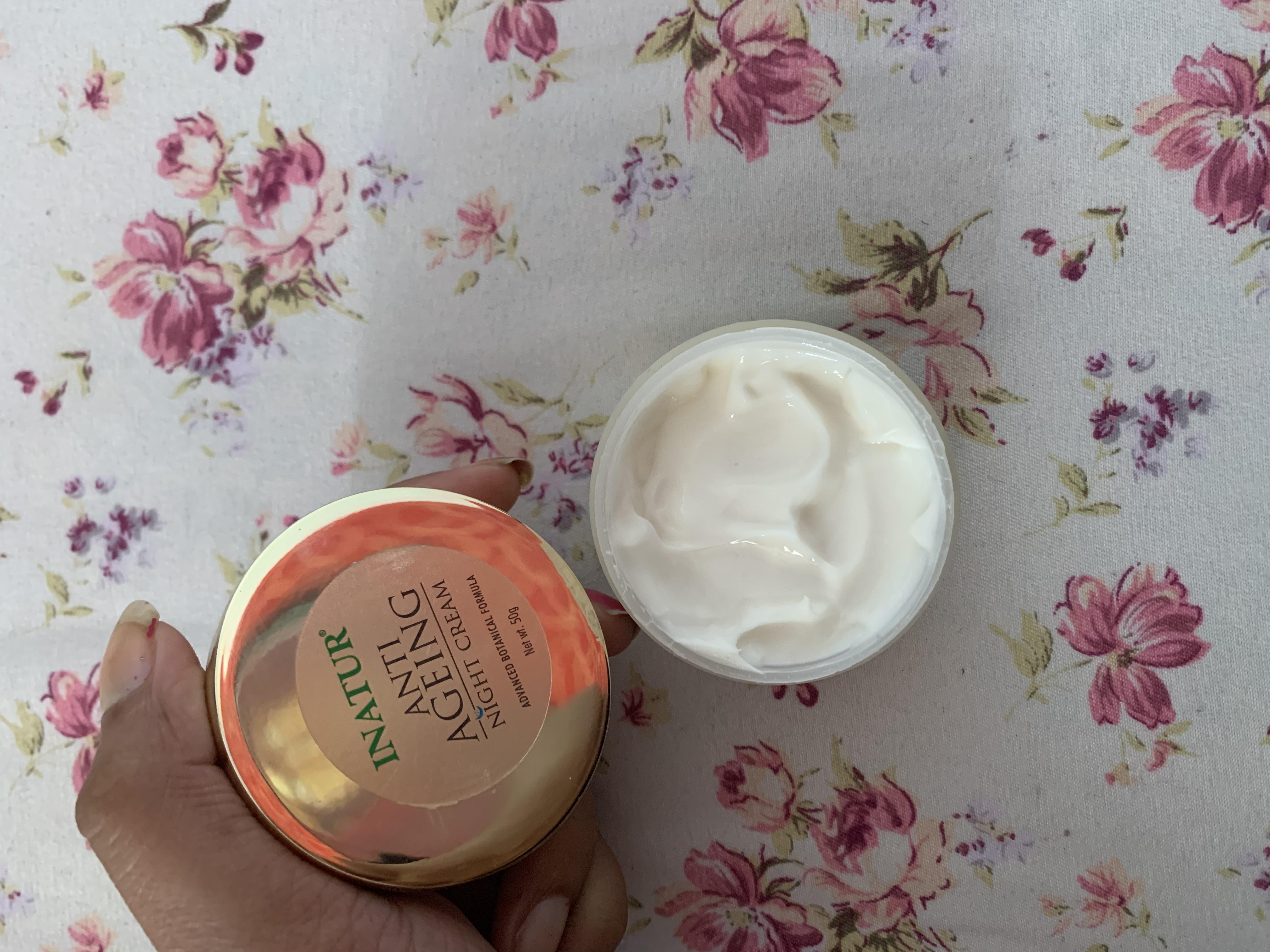 Inatur Anti-Ageing Night Cream pic 3-Nature night cream-By shivanika_dhami