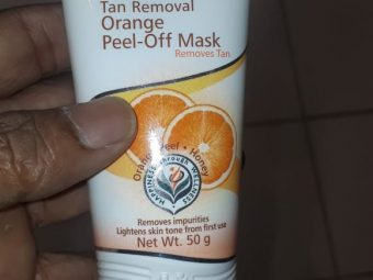 Himalaya Herbals Tan Removal Orange Peel-Off Mask pic 2-Removes the tan well-By manju_