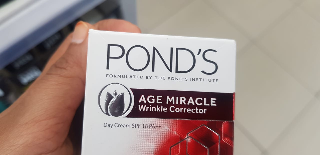 Pond's Age Miracle Wrinkle Corrector Day Cream-love it-By avyuktha