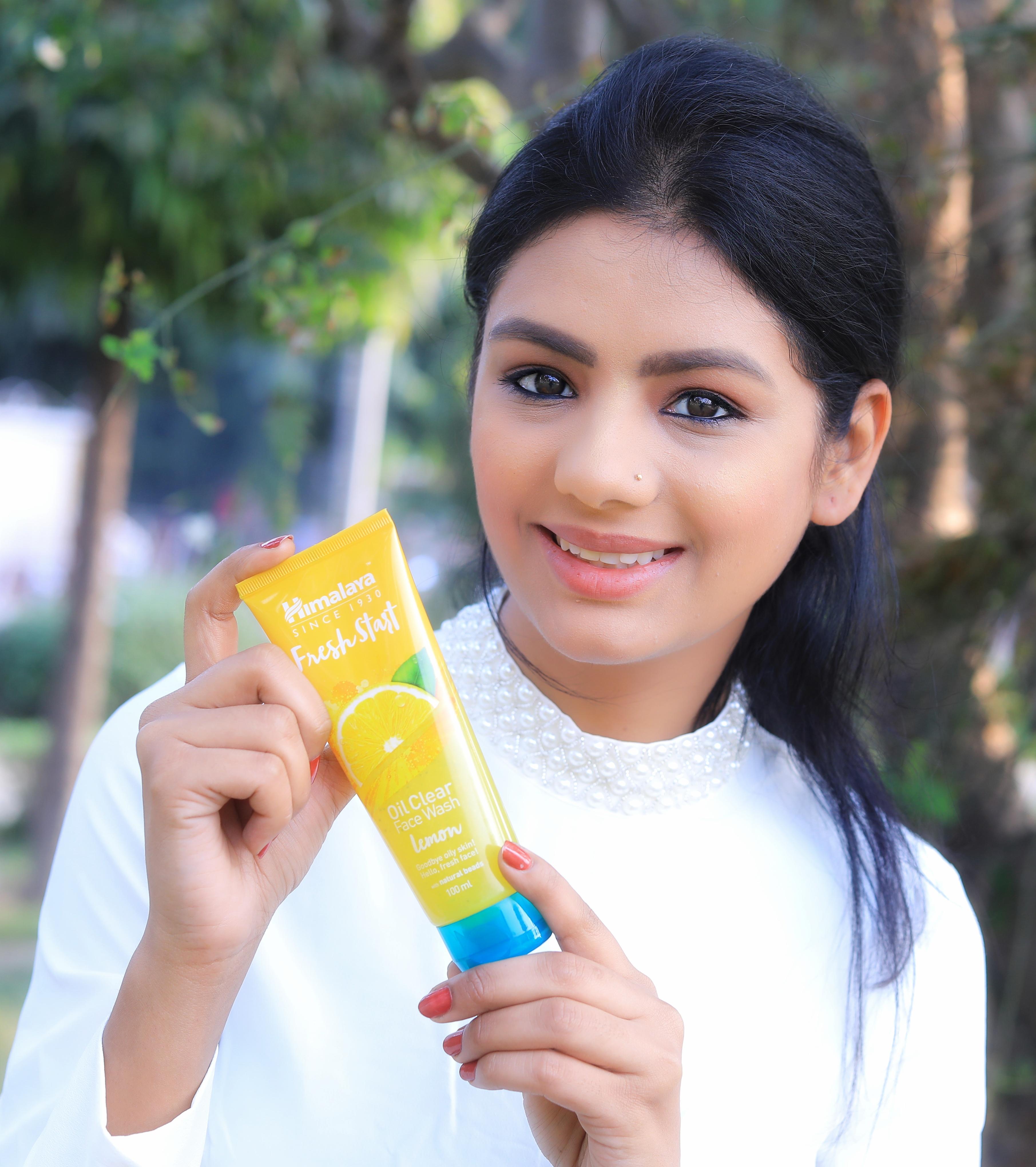 Himalaya Herbals Oil Clear Lemon Face Wash-Great-By nehakhatri