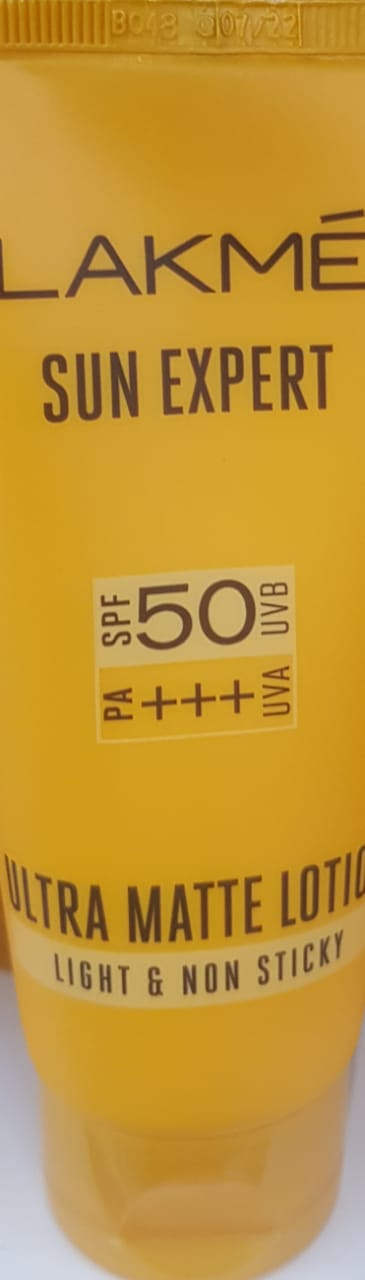 Lakme Sun Expert UV Lotion SPF 50 PA+++ -skin protector-By avyuktha