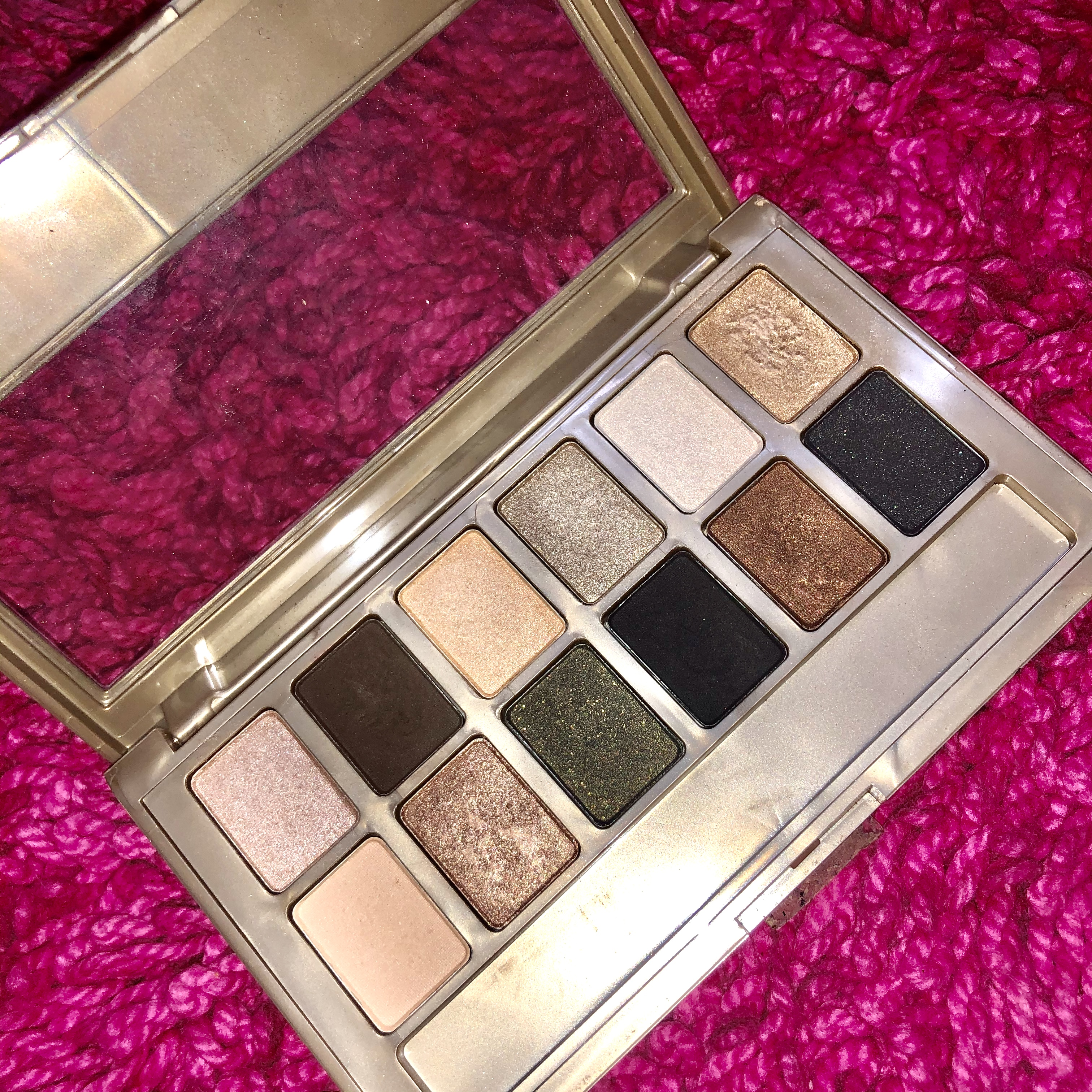 Maybelline New York The 24K Nudes Eyeshadow Palette-Not Worth The Money!-By aishwaryaaaa