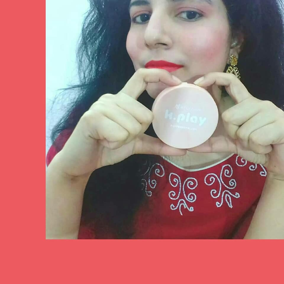 MyGlamm K.PLAY FLAVOURED BLUSH – SWEET PEACH-Highly pigmented raspberry blush that comes in a stylish compact case-By happiehippie-2