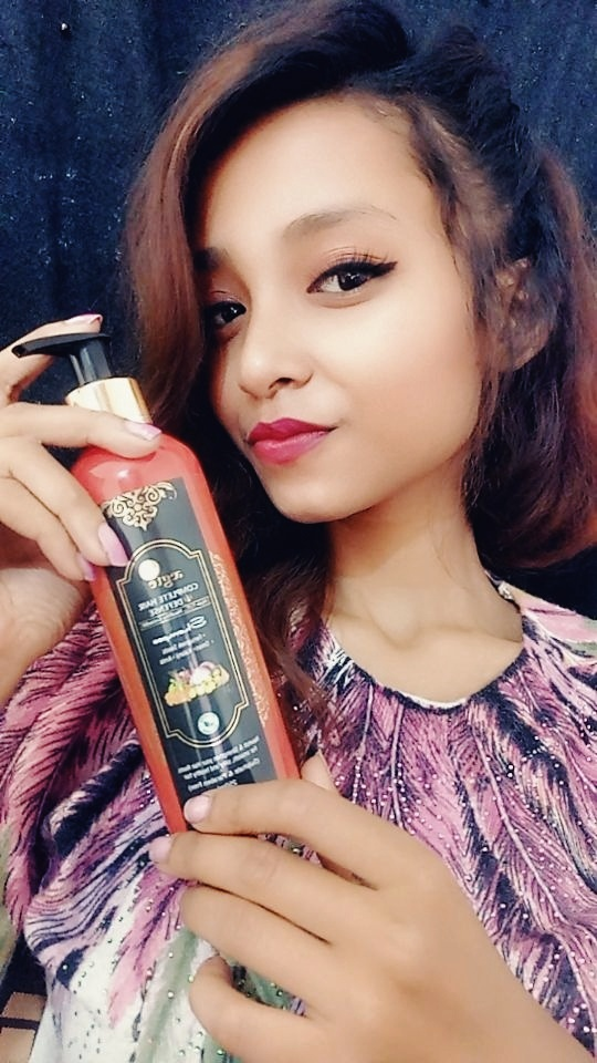 Aegte Complete Hair Defense Shampoo Enriched with Red Onion, Fenugreek Seeds, Kalonji & Amla pic 2-Shampoo with many benefits-By srishtishifa