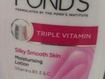 Pond's Triple Vitamin Moisturising Lotion -wonderful moisturizer-By avyuktha
