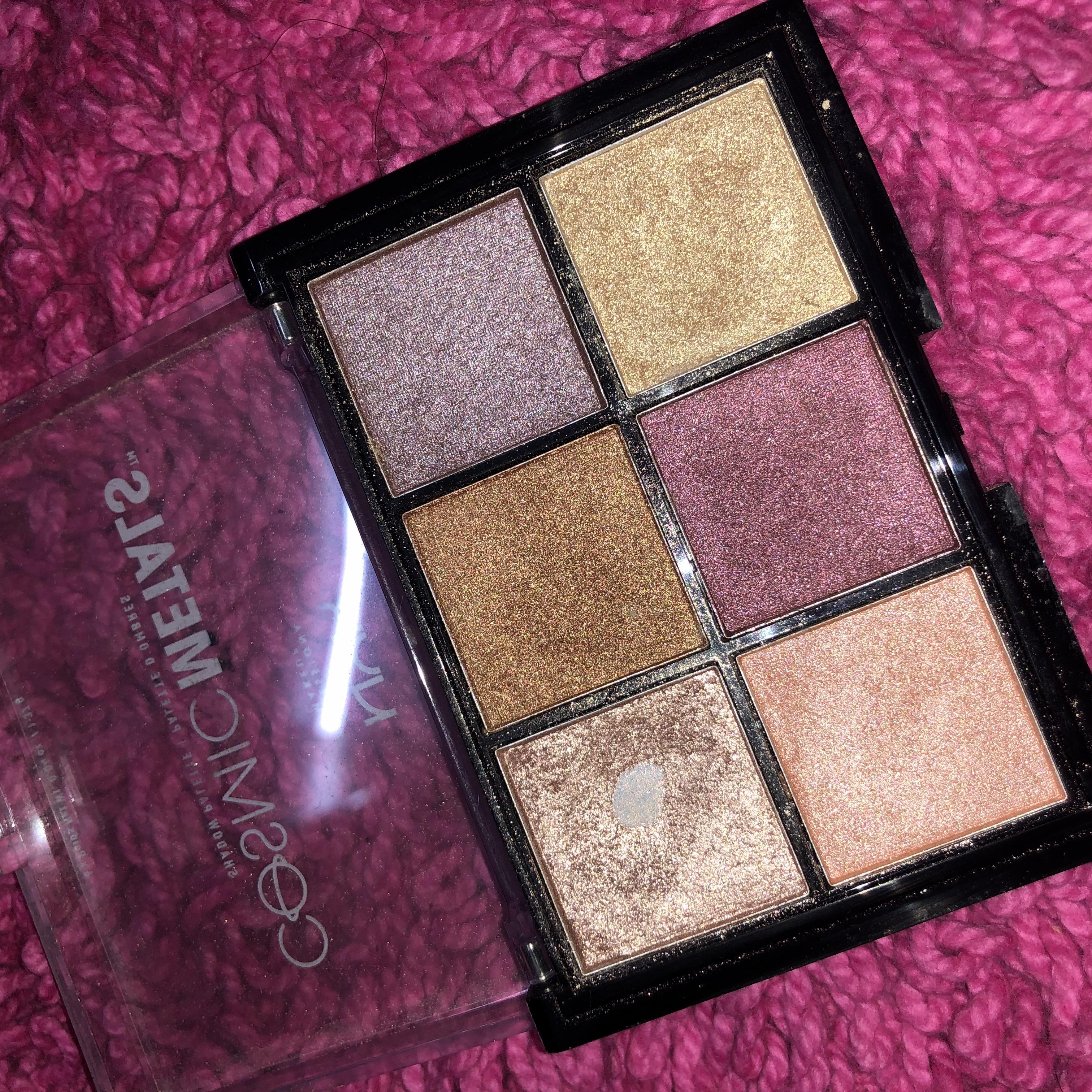 NYX Professional Makeup Cosmic Metals Eyeshadow Palette-STUNNING PALETTE-By aishwaryaaaa