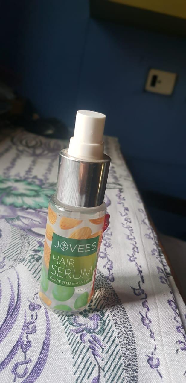 Jovees Grape Seed & Almond Hair Serum -almond hair serum-By avyuktha