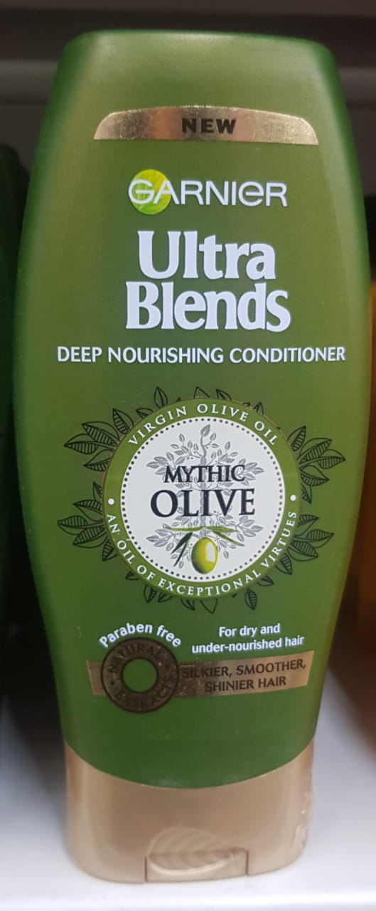 Garnier Ultra Blends Mythic Olive Conditioner-Garnier Ultra Blends Mythic Olive Conditioner-By avyuktha