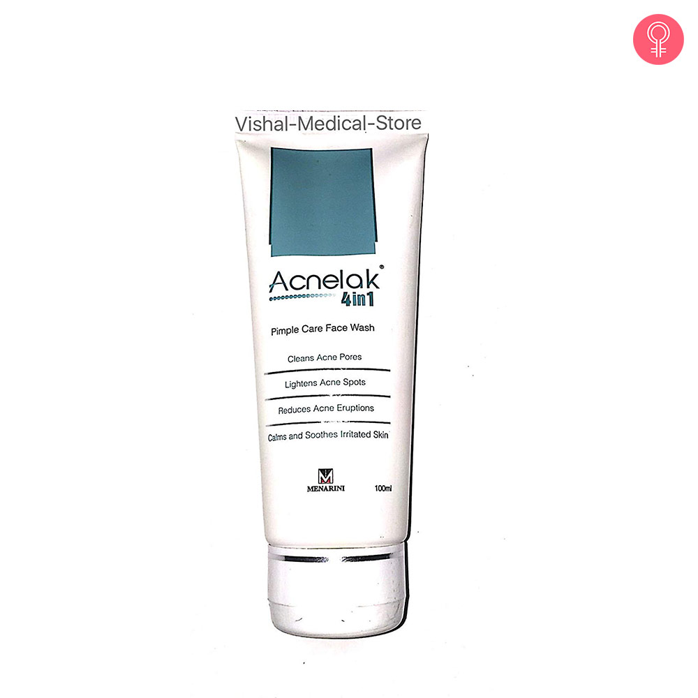 AcneLak 4-in-1 Pimple Care Face Wash