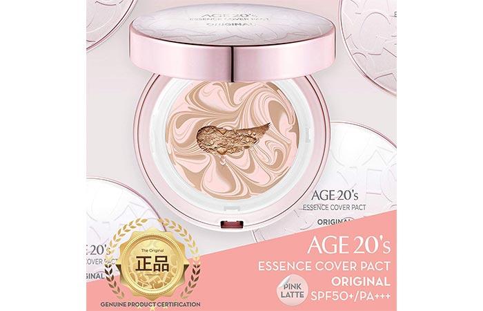 Age 20's Compact Foundation Premier Makeup