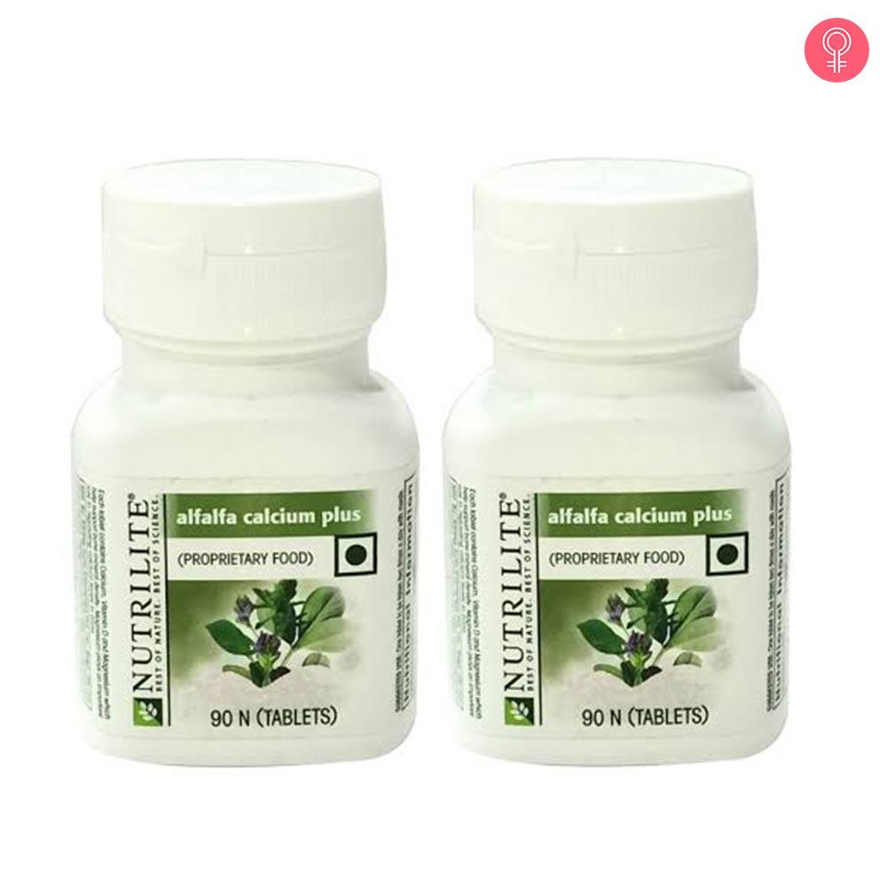 Amway Nutrilite Alfalfa Calcium Plus 90 N Tablets