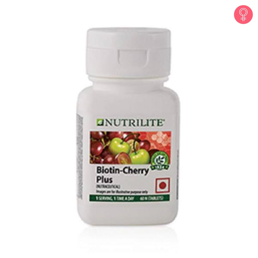 Amway Nutrilite Biotin Cherry Plus Tablets