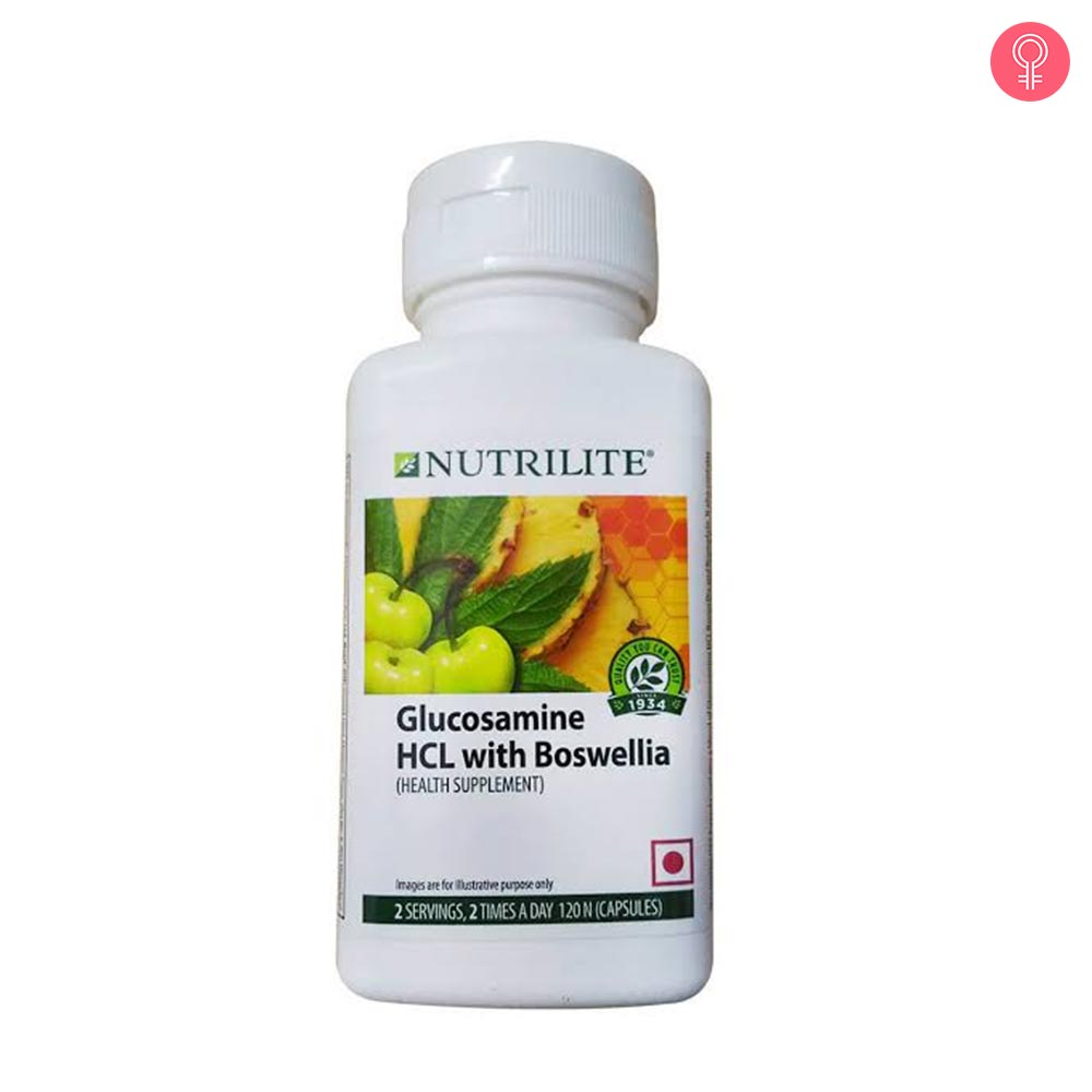 Amway Nutrilite Glucosamine HCL with Boswellia – 120 Capsules