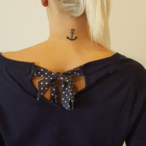 Anchored Love Tattoo