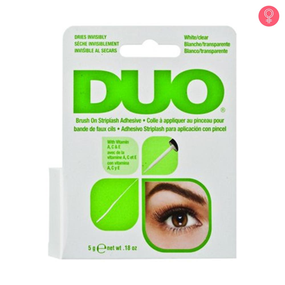 Ardell Duo Brush On Striplash Adhesive White/Clear