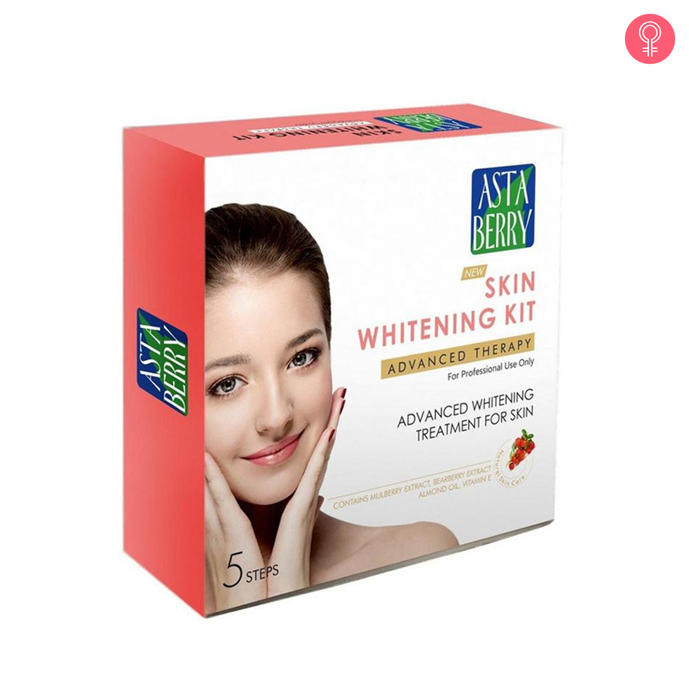 Astaberry Skin Whitening Facial Kit