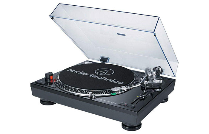 Audio Technica ATLP120 Direct-Drive Professional Turntable