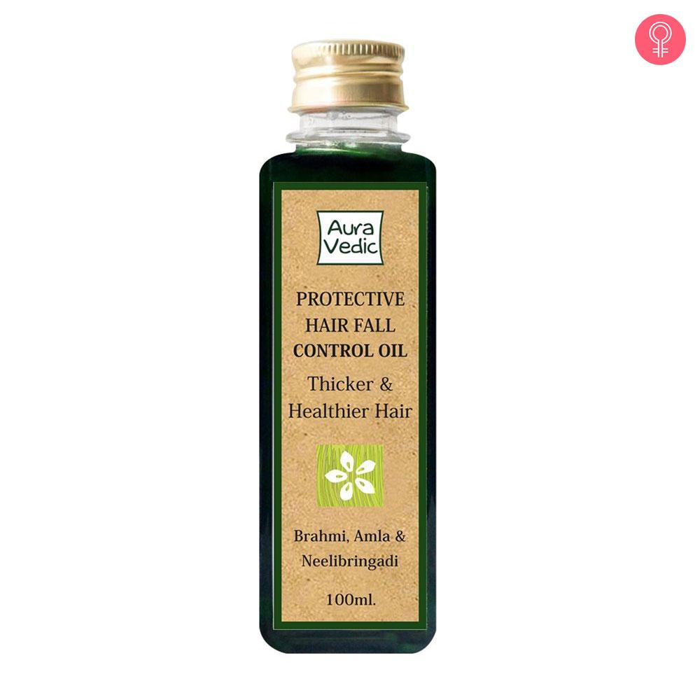 Auravedic Protective Hair Fall Control Oil