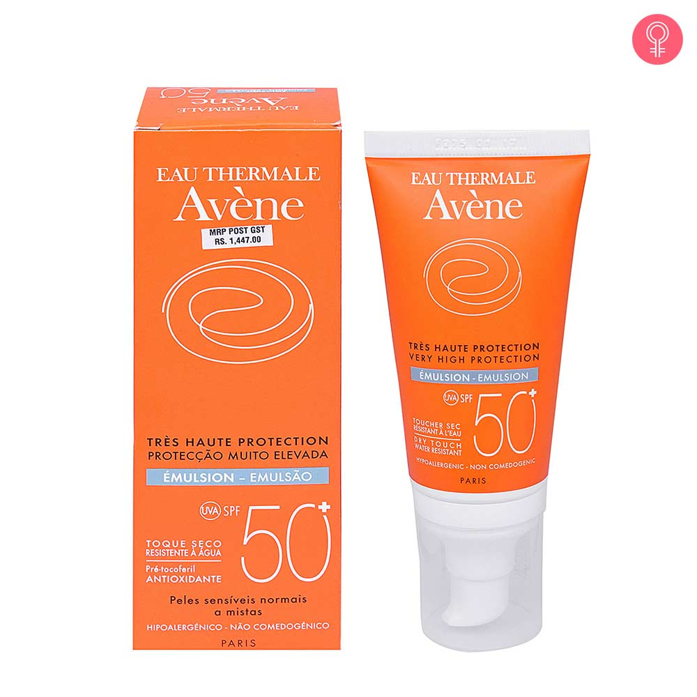 Avene Very High Protection Sunscreen Emulsion SPF 50+