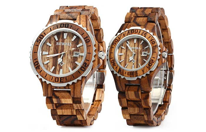 Bewell Couple Watches