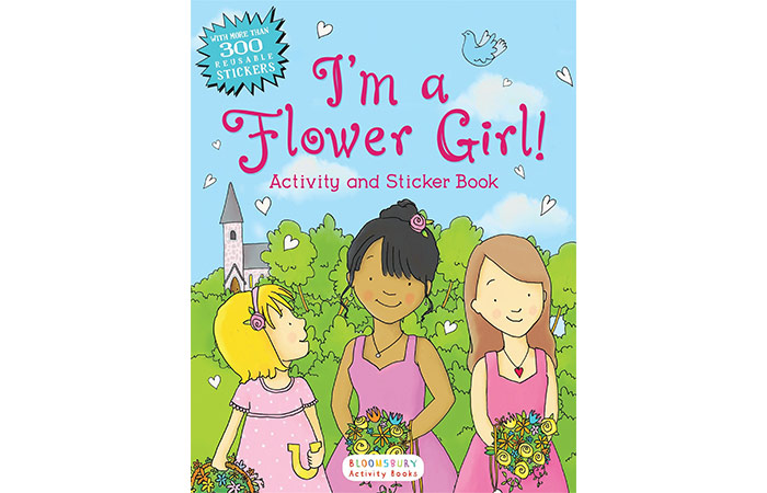 Bloomsbury I'm a Flower Girl! Activity And Sticker Book