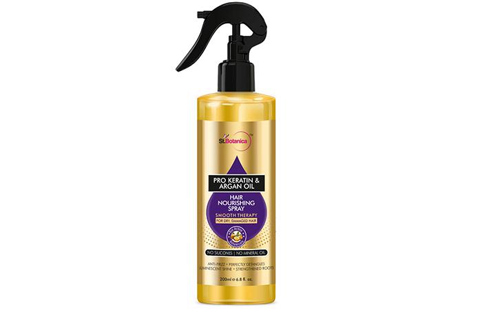 Botanica Pro-Keratin & Argan Oil Hair Nourishing Spray