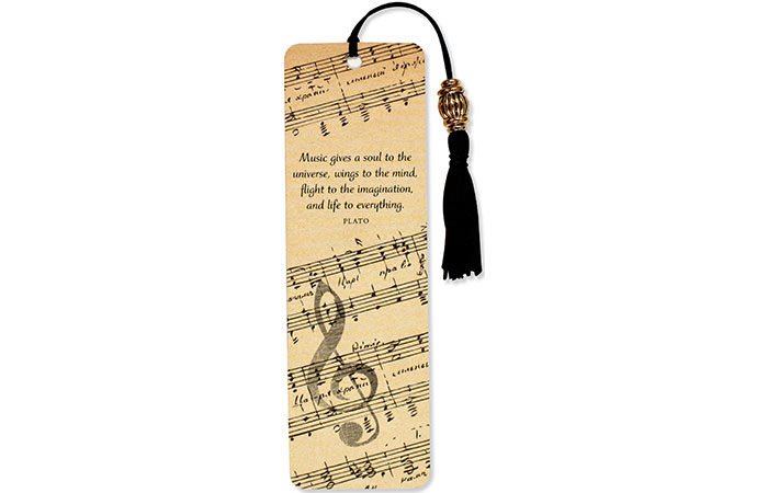 By Peter Pauper Press Music Beaded Bookmark