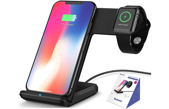 Bysionics Wireless Charger and Charging Stand